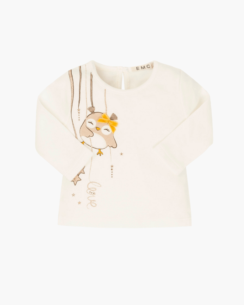 Everything Must Change Owl Top - The Mango Tree