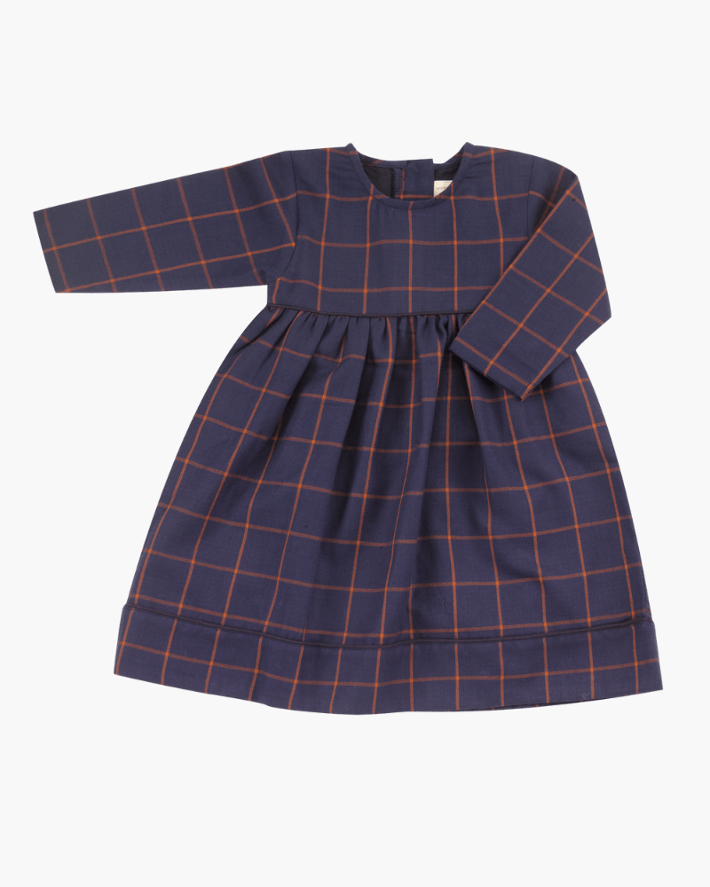 Pigeon Tartan Party Dress - The Mango Tree