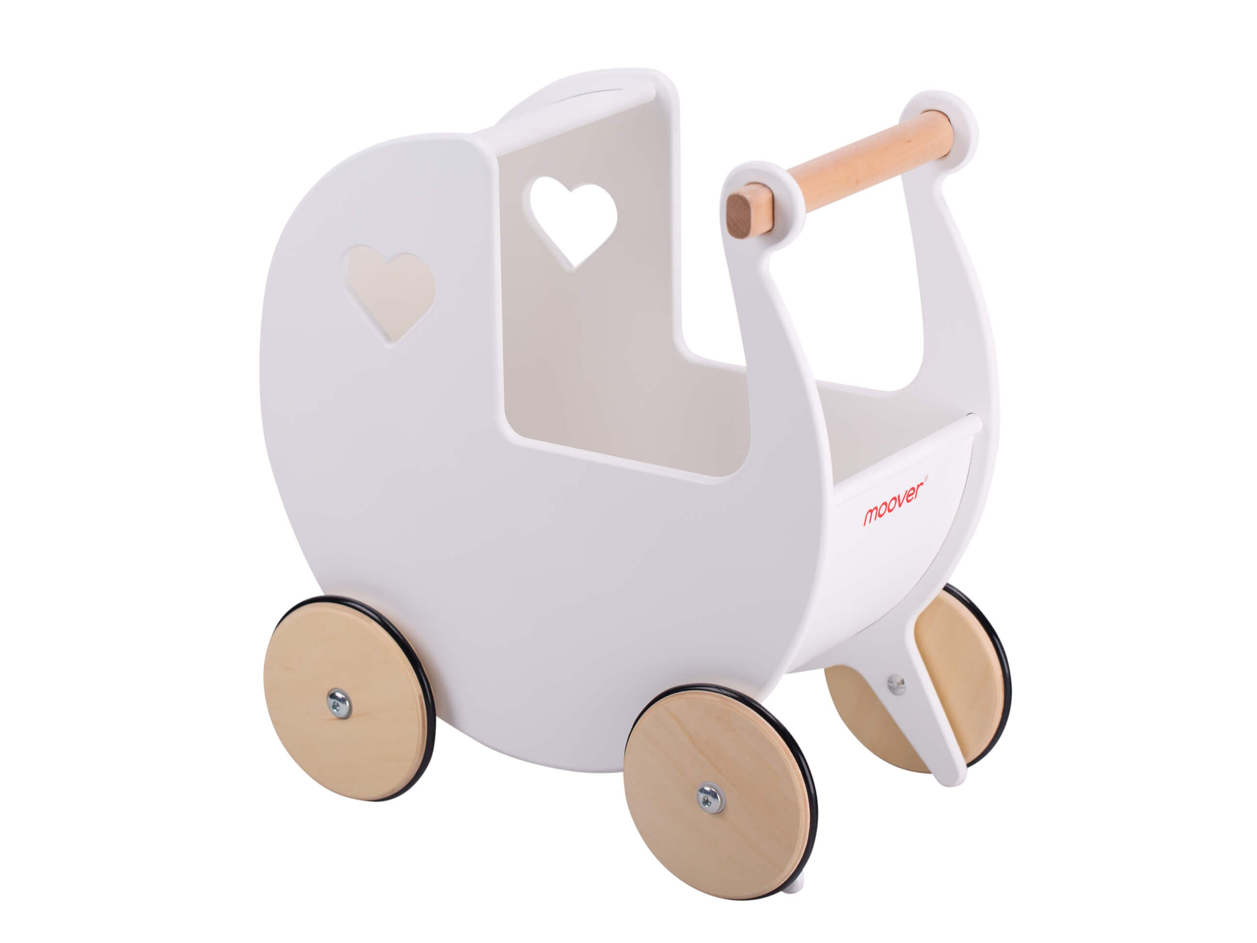 Moover push along dolls Pram White - The Mango Tree