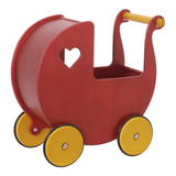 Moover push along dolls Pram birch veneer - The Mango Tree
