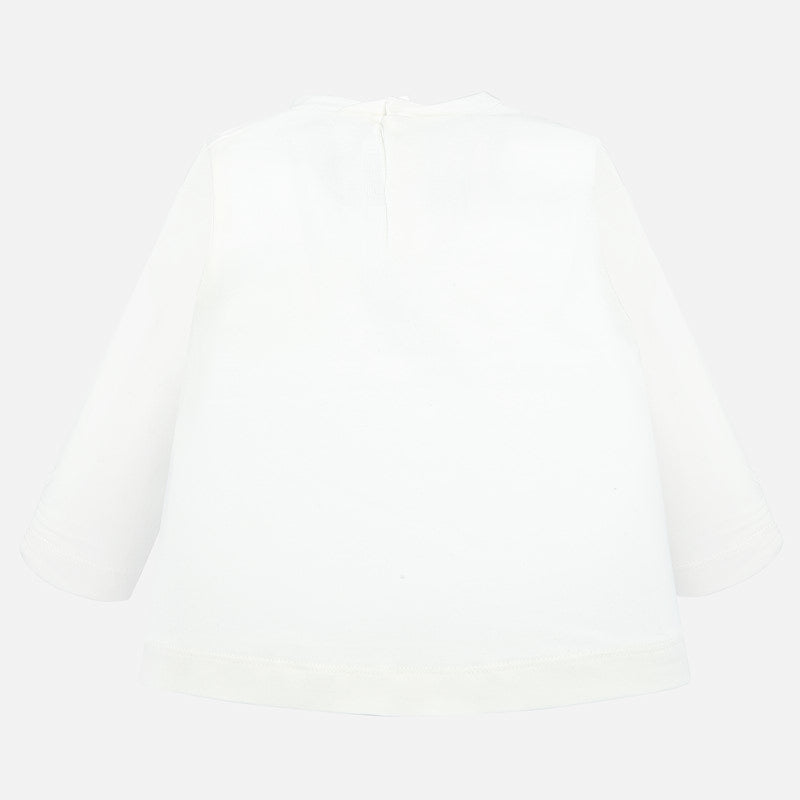 Mayoral Long sleeved bow t-shirt - The Mango Tree