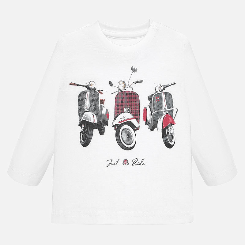 Mayoral long sleeve just ride it t-shirt - The Mango Tree