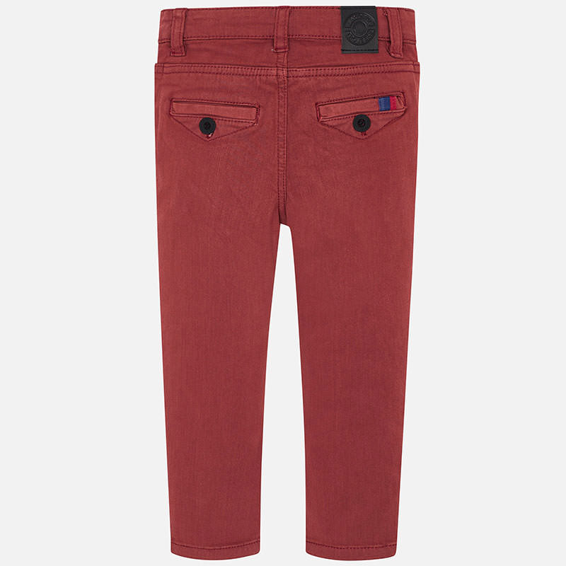 Mayoral red chino pants - The Mango Tree