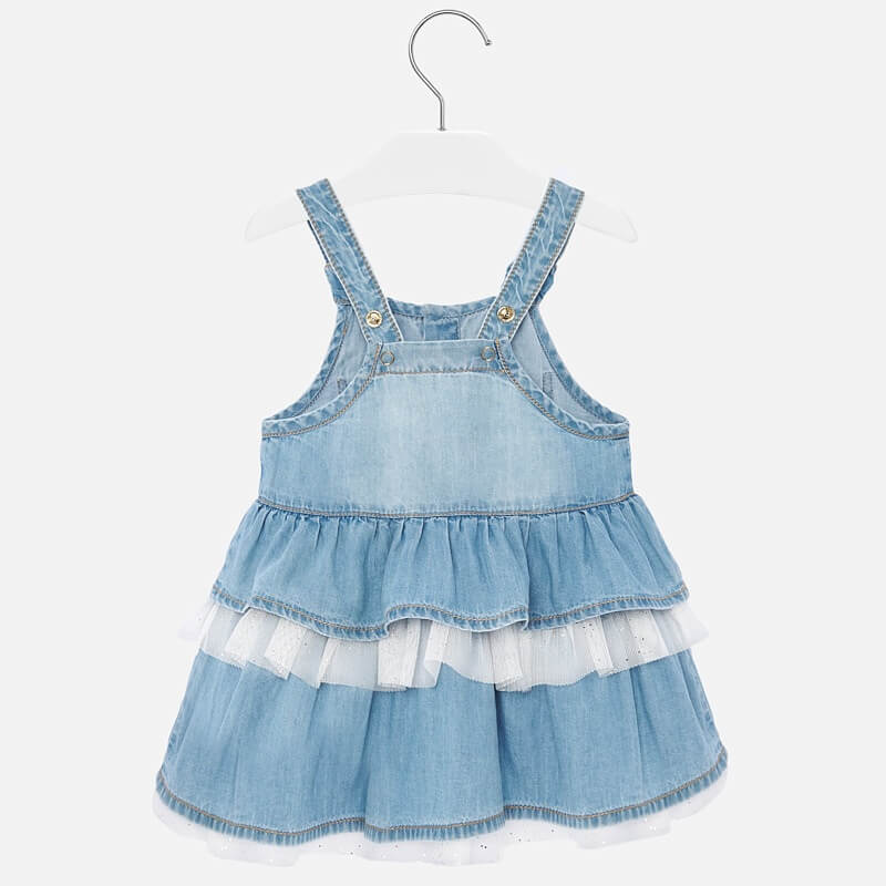 Mayoral Denim skirt dungarees - The Mango Tree