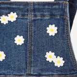 Mayoral Combined denim skirt dungarees - The Mango Tree