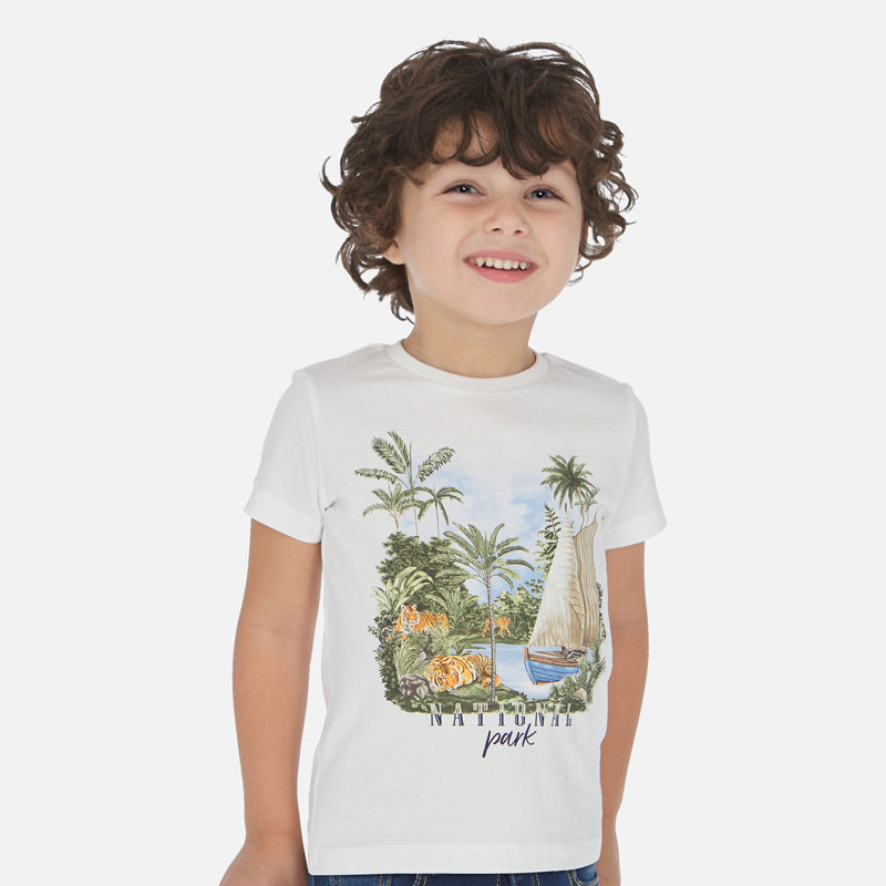 Mayoral Short sleeved print t-shirt - The Mango Tree