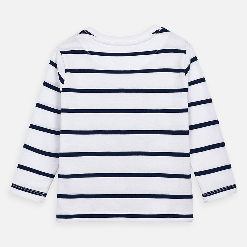 Mayoral Striped tee - The Mango Tree