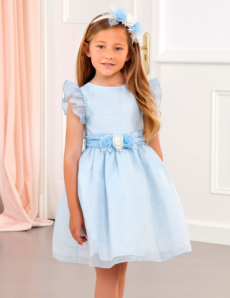 Abel & Lula Lux Organza Dress - The Mango Tree