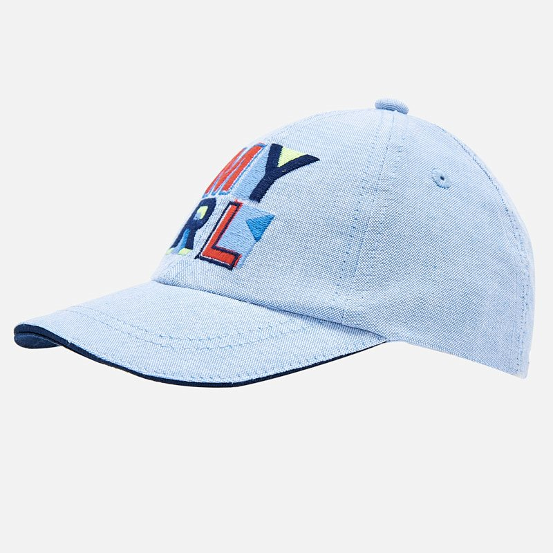 Mayoral Logo Cap blue - The Mango Tree