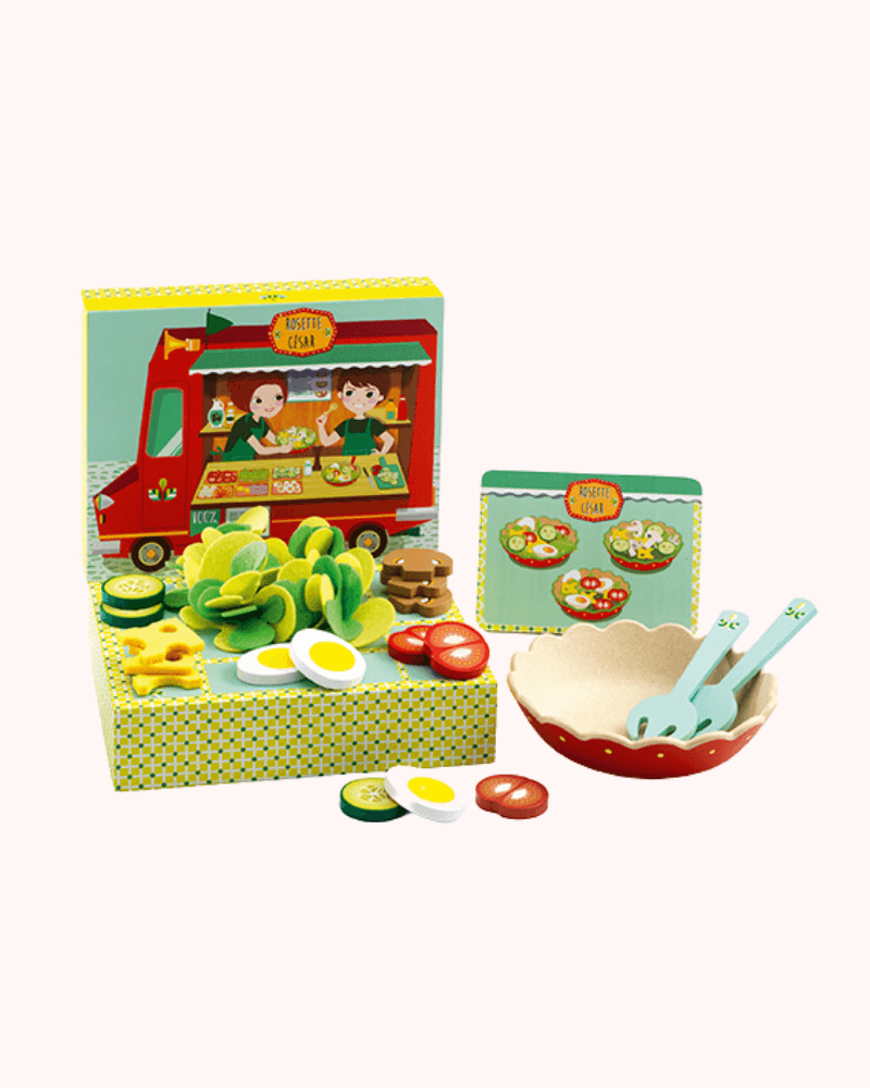 Djeco Rosette et Ceasar Salad Making Set - The Mango Tree