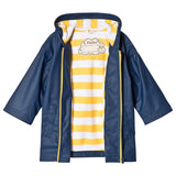 Hatley classic Navy&Yellow splash jacket - The Mango Tree