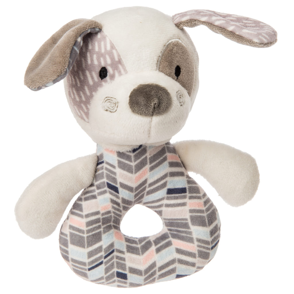 Mary Meyers Decco Pup Rattle - The Mango Tree