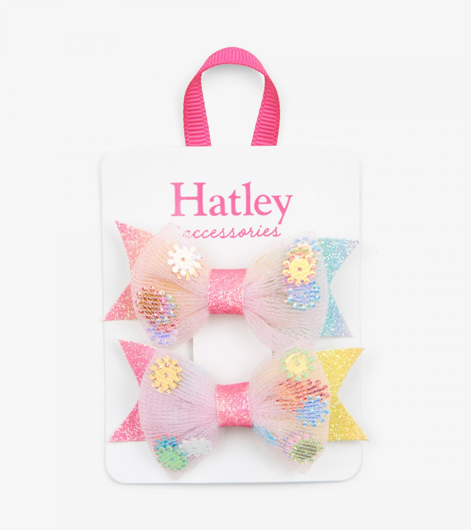 Hatley floral confetti hair clip - The Mango Tree