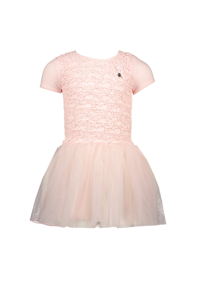 Lechic Pink dress Fancy Smocked Body - The Mango Tree