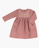 Pigeon  Embroidered Dress - The Mango Tree