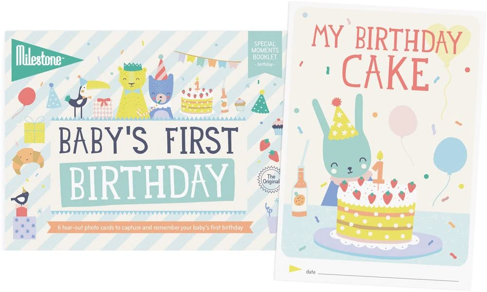 Milestone Baby's First Special Moment Birthday Cards - The Mango Tree
