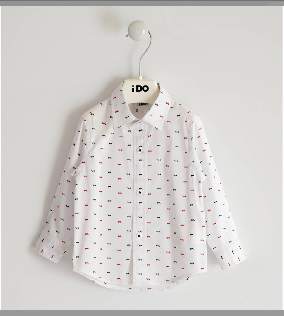 IDO -  Stretch poplin shirt - The Mango Tree