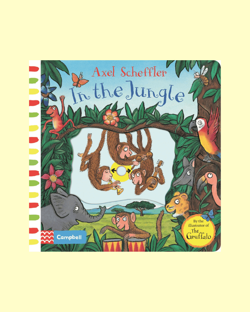 IN THE JUNGLE (NOVELTY BOARD) (Story Sack) - The Mango Tree