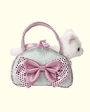 Cat Icy Blue W/Bow Fancy Pals - The Mango Tree