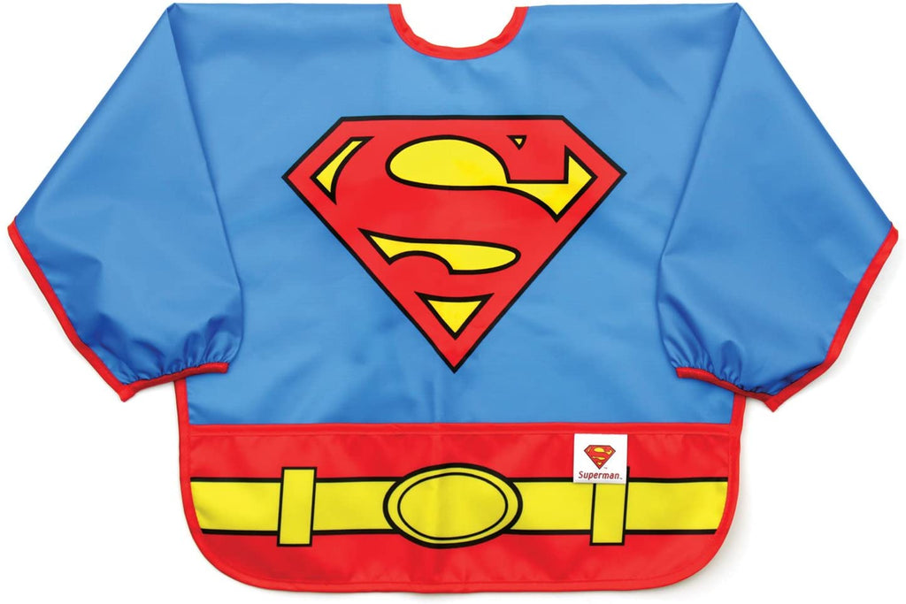 BumKins Superman Sleeved Bib - The Mango Tree