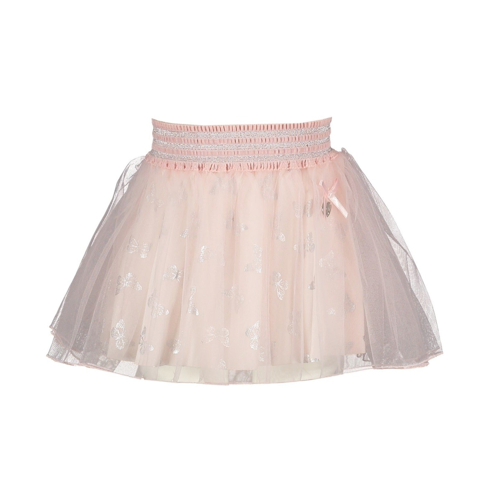 Lechic Pink Petticoat With butterflies - The Mango Tree