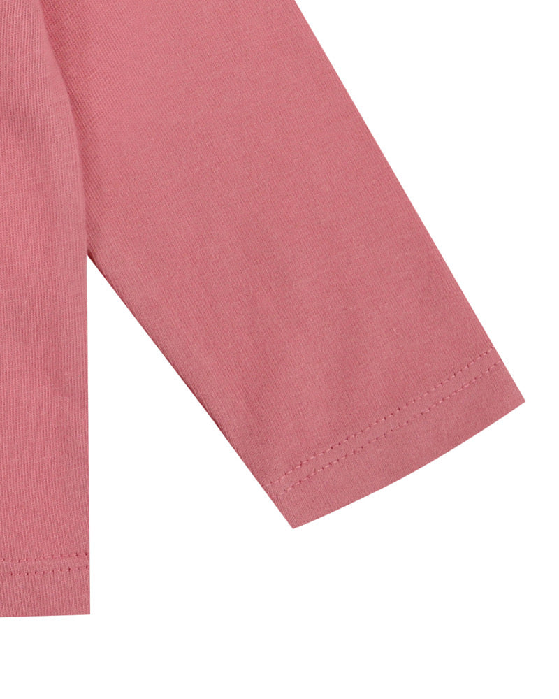 Lilly&Sid reversible pink layering top - The Mango Tree