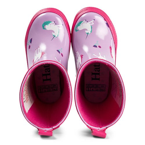 Playful Unicorn hatley rain boots - The Mango Tree
