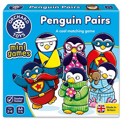 Orchard Penguin Pairs mini game - The Mango Tree
