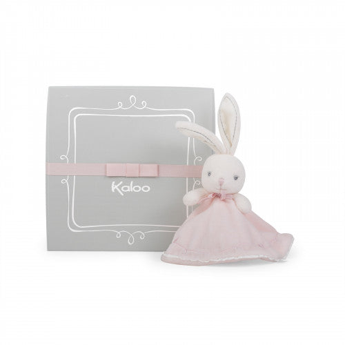 Kaloo Round  Doudou rabbit pink - The Mango Tree