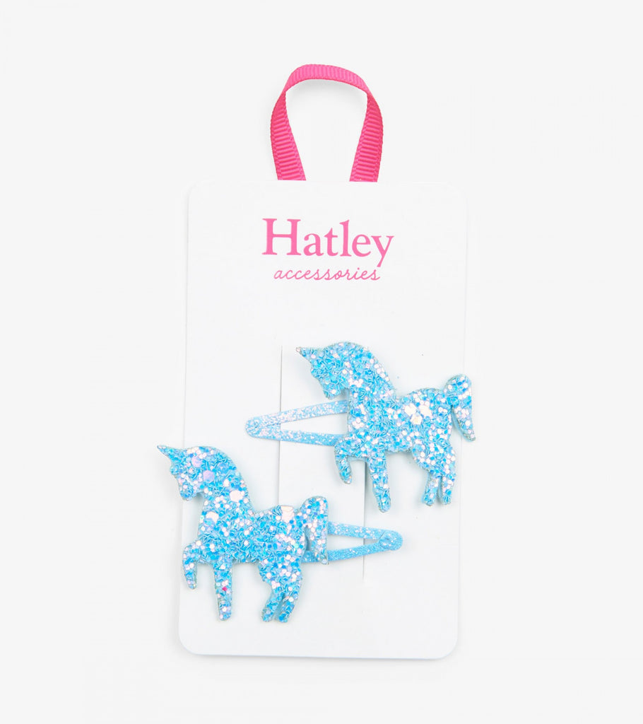 Hatley Dazzling unicorns snap clip - The Mango Tree