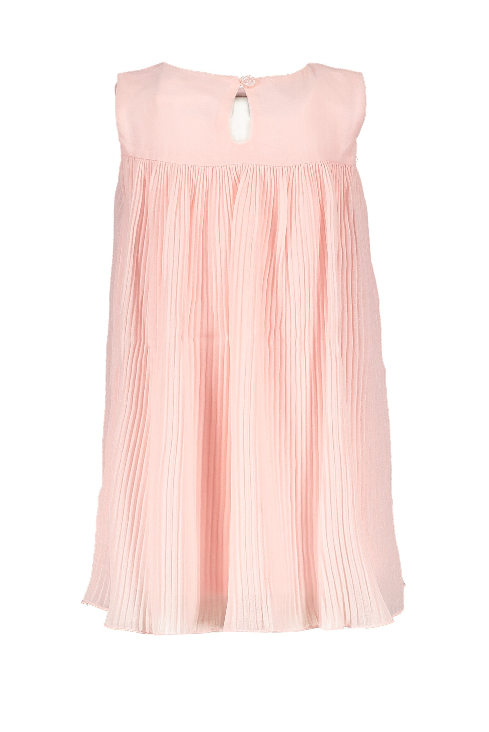 Lechic Pink Pleated  dress (Baby Girl ) - The Mango Tree