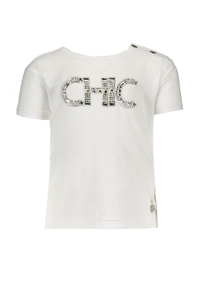 Lechic White Chic T-Shirt (Baby Girl) - The Mango Tree