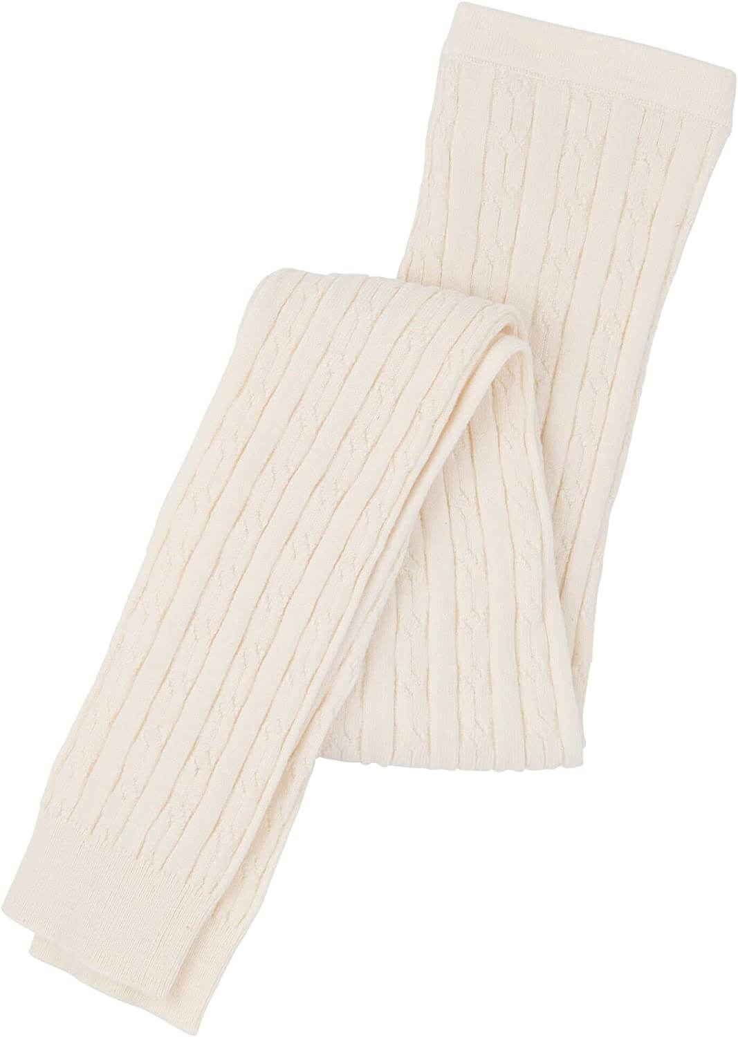 Hatley cream cable tights - The Mango Tree