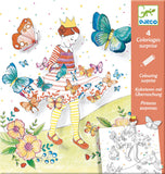 Djeco Lady Butterfly - Colouring Surprise3D - The Mango Tree