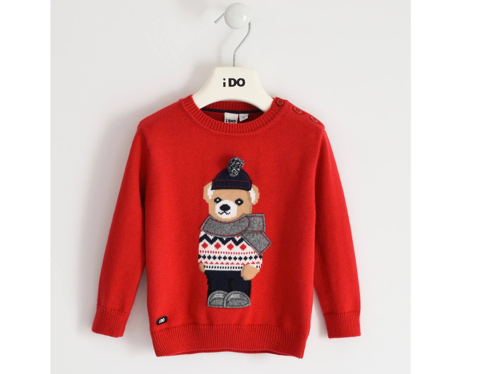 IDO -  Red Bear Jumper - The Mango Tree