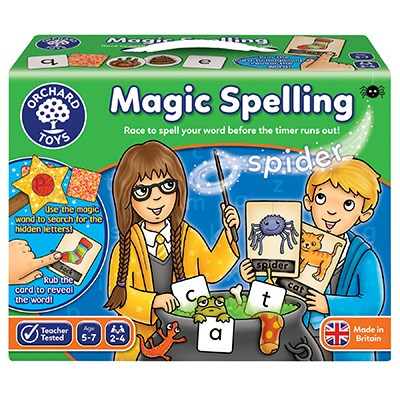 Orchard magic spelling game - The Mango Tree