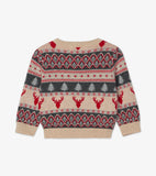 Hatley Fair Isle V-Neck sweater Baby - The Mango Tree
