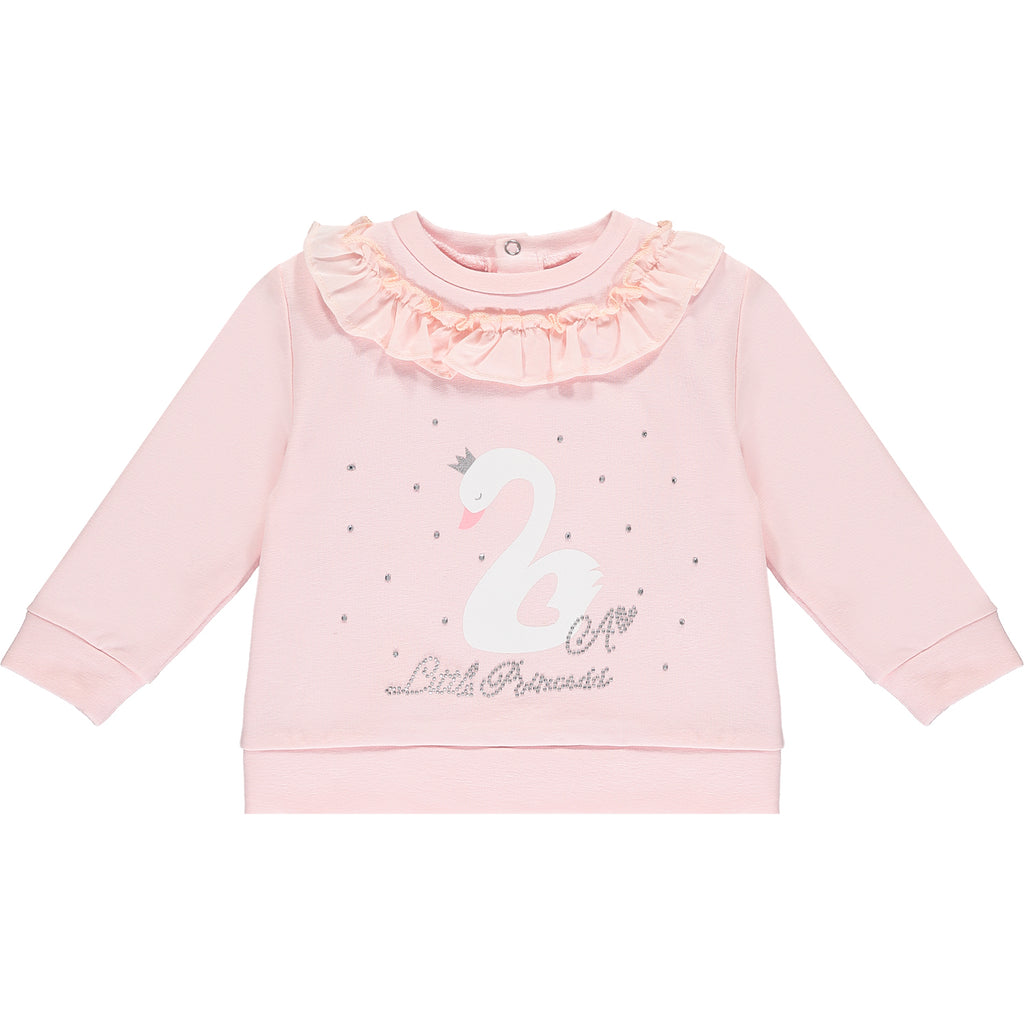 LITTLE A - Little Princess swan tracksuit - The Mango Tree