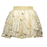 Lechic Embroidered Leaf Skirt - The Mango Tree