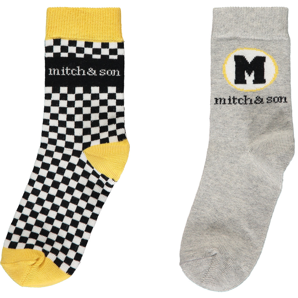 Mitch and Son Taxi Socks - The Mango Tree