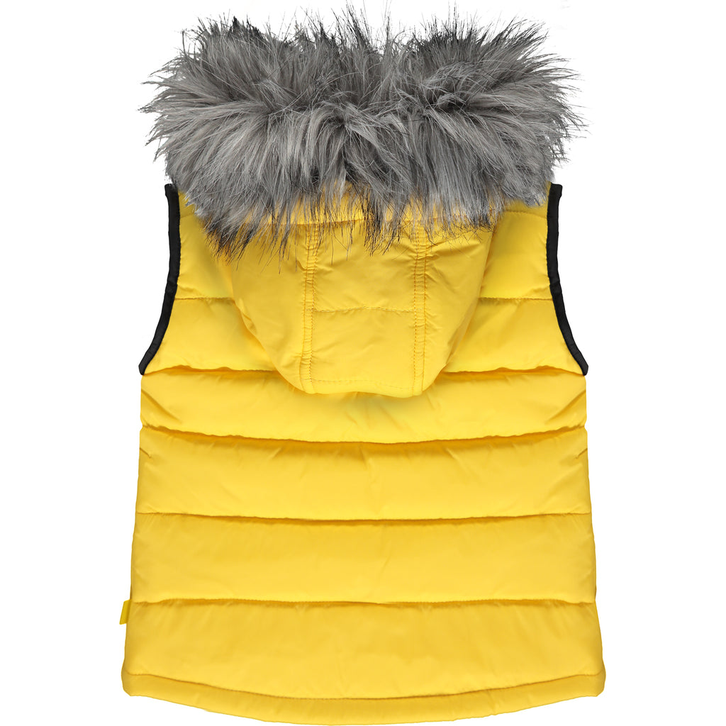 Mitch and Son Padded Gilet with Faux Fur - The Mango Tree