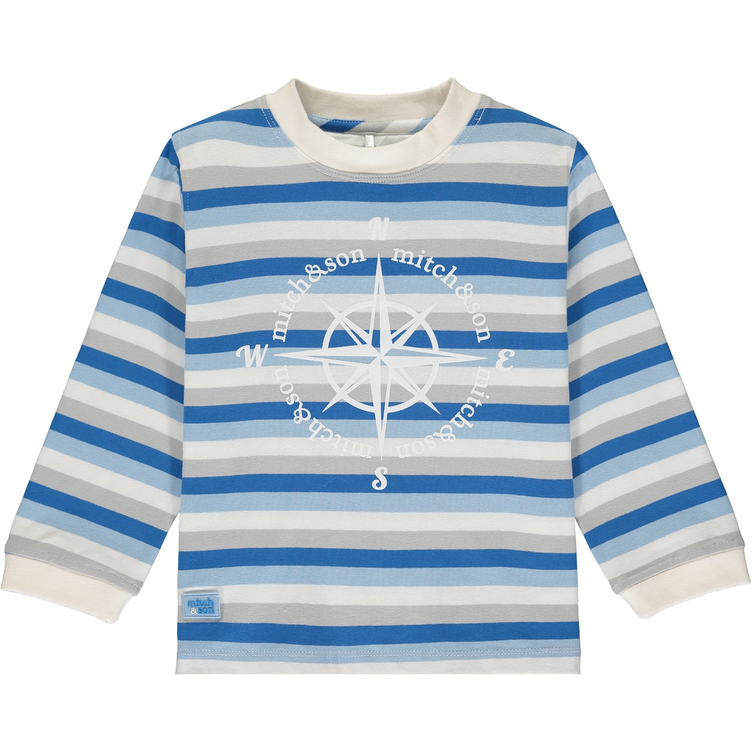 Mitch and Son Stripe compass top - The Mango Tree