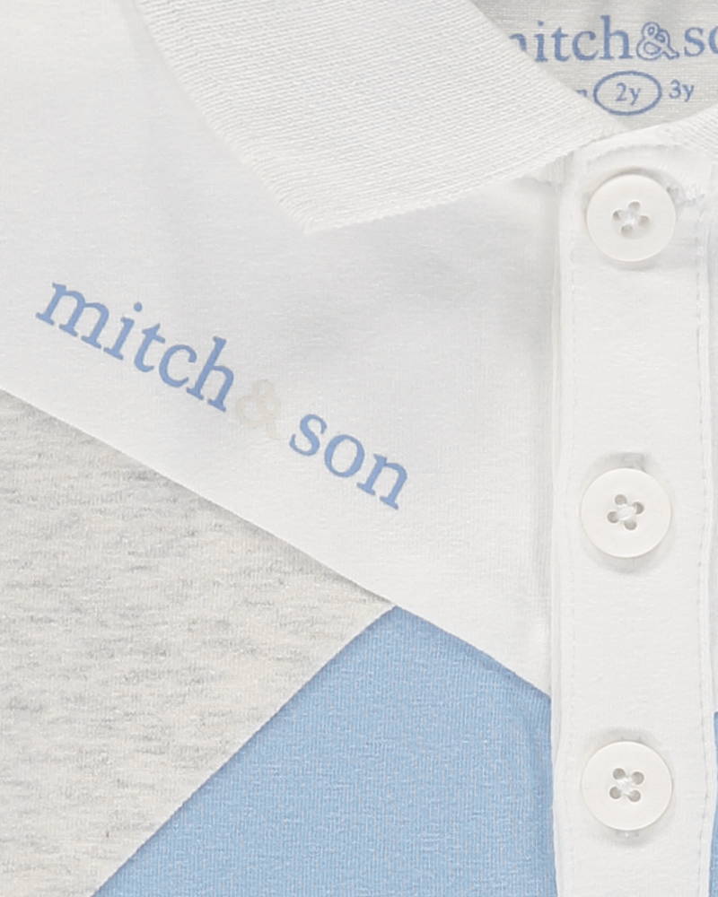 Mitch&son Cut & Sew Polo Top - The Mango Tree