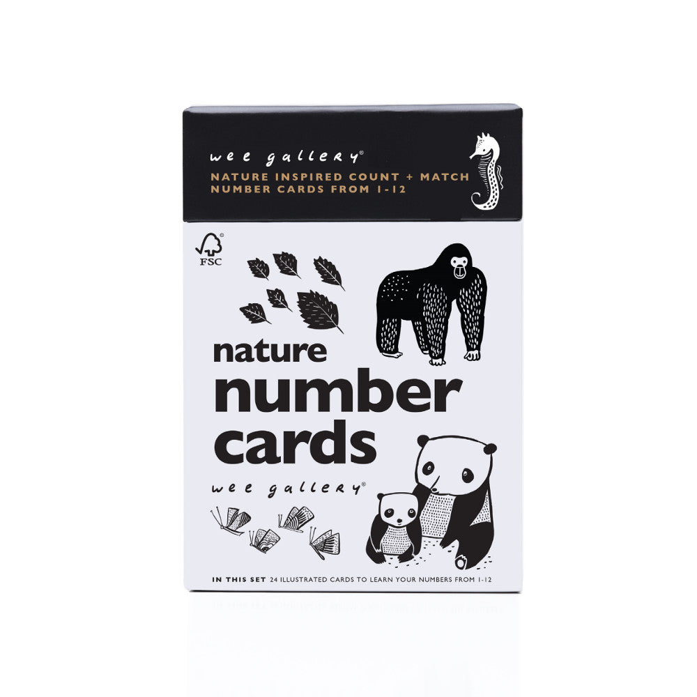 Wee Gallery Nature Number Cards - The Mango Tree