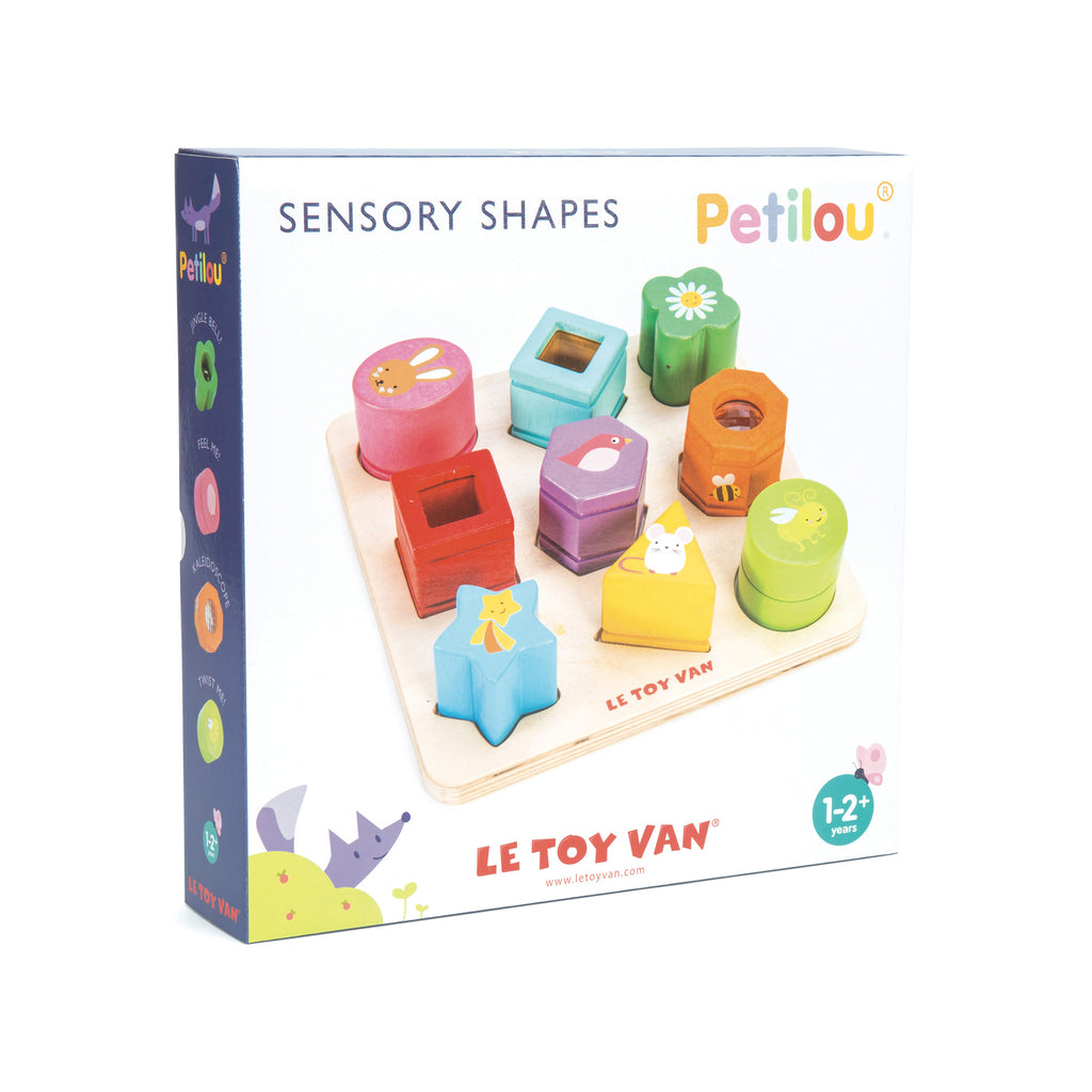 Le Toy Van Sensory Shapes - The Mango Tree