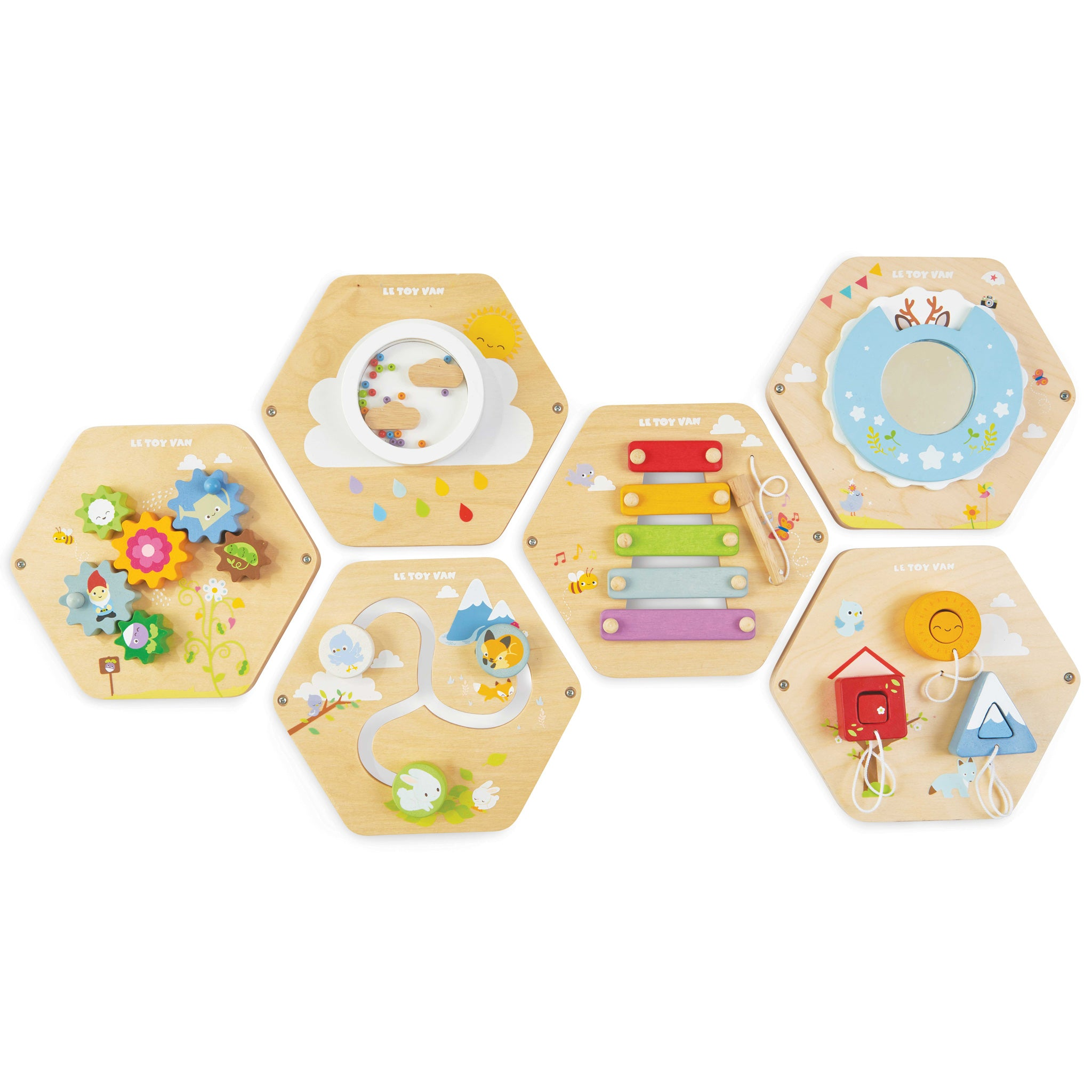 Le Toy Van Gears Activity Tile - The Mango Tree