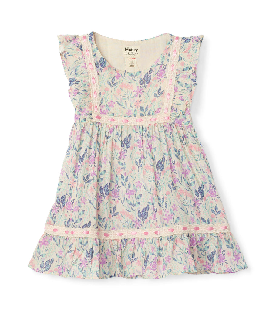 Hatley Floral party dress - The Mango Tree