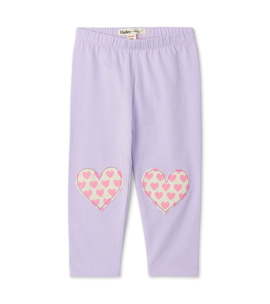 Hatley Soft lilac leggings - The Mango Tree