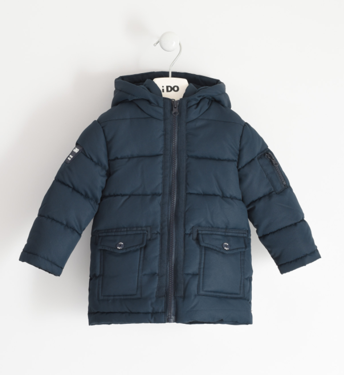 IDO -  Boys winter jacket with hood - The Mango Tree