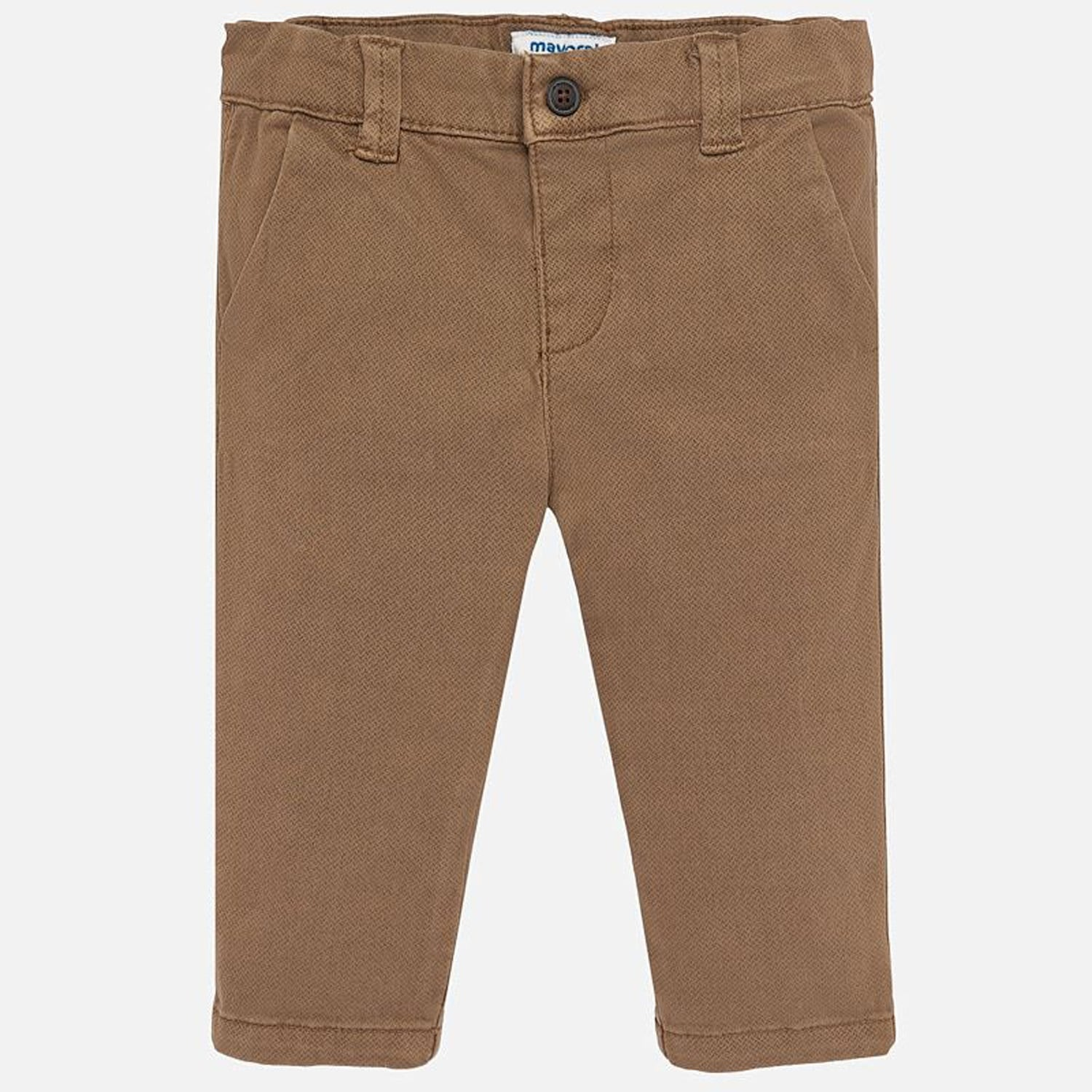 Mayoral printed chestnut chinos - The Mango Tree